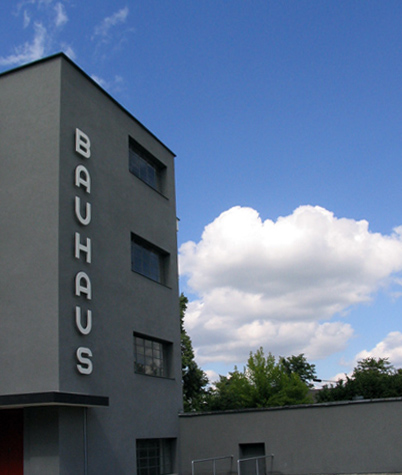 The Bauhaus in Dessau Germany by Walter Groupius