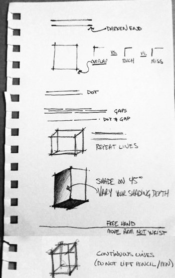 Architectural Sketching Tips