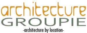 architecture groupie logo for blog