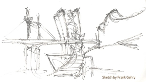 Gehry Sketch - Guggenheim