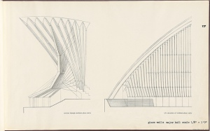 Sydney Opera House Detail Drawing